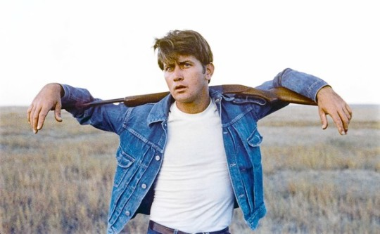 "Martin Sheen in ""Badlands"""